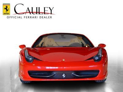 Used 2014 Ferrari 458 Spider Used 2014 Ferrari 458 Spider for sale Sold at Cauley Ferrari in West Bloomfield MI 3