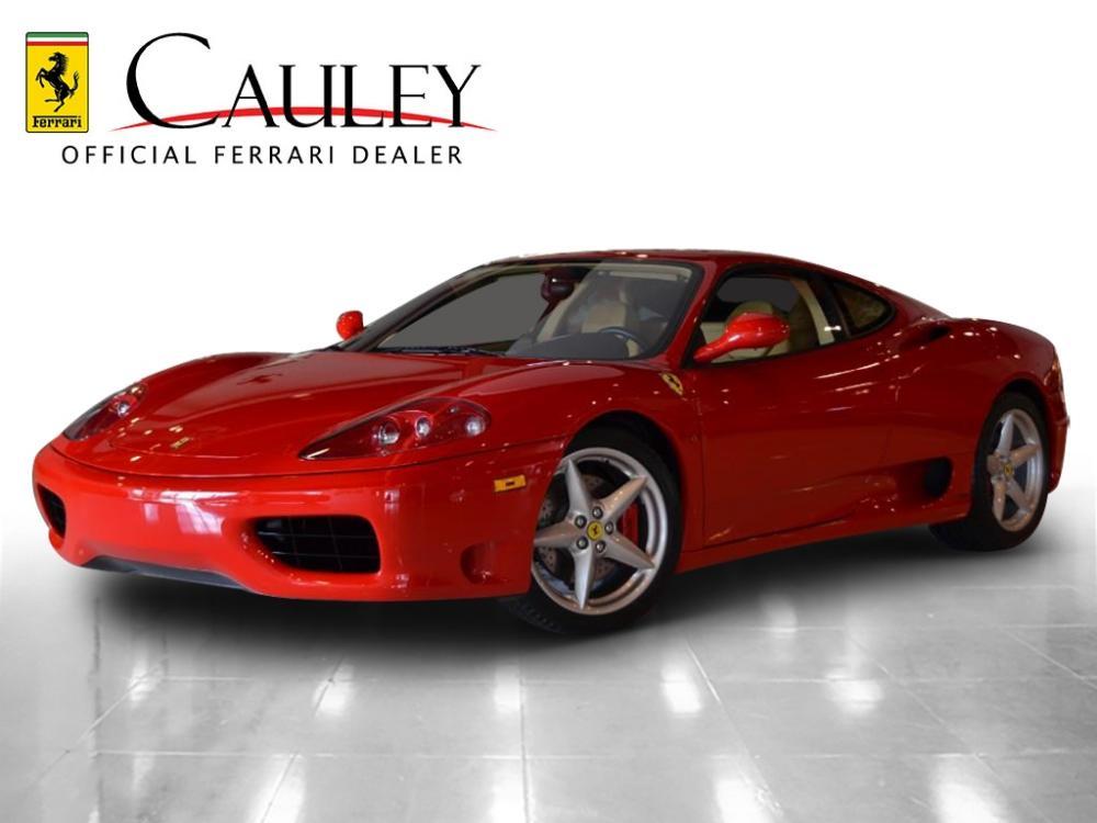 Used 1999 Ferrari 360 Modena F1