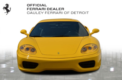 Used 2003 Ferrari 360 Modena F1 Used 2003 Ferrari 360 Modena F1 for sale $94,900 at Cauley Ferrari in West Bloomfield MI 3