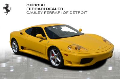 Used 2003 Ferrari 360 Modena F1 Used 2003 Ferrari 360 Modena F1 for sale $94,900 at Cauley Ferrari in West Bloomfield MI 4