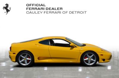 Used 2003 Ferrari 360 Modena F1 Used 2003 Ferrari 360 Modena F1 for sale $94,900 at Cauley Ferrari in West Bloomfield MI 5