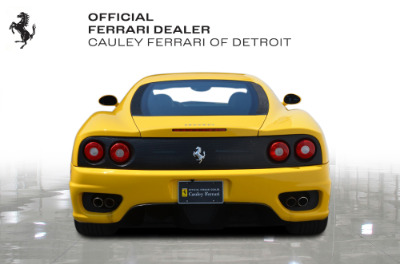 Used 2003 Ferrari 360 Modena F1 Used 2003 Ferrari 360 Modena F1 for sale $94,900 at Cauley Ferrari in West Bloomfield MI 7