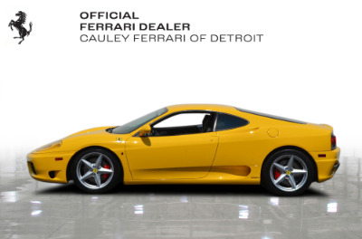 Used 2003 Ferrari 360 Modena F1 Used 2003 Ferrari 360 Modena F1 for sale $94,900 at Cauley Ferrari in West Bloomfield MI 9