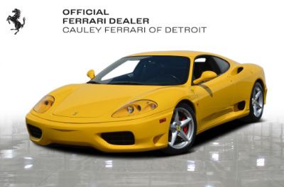 Used 2003 Ferrari 360 Modena F1 Used 2003 Ferrari 360 Modena F1 for sale $94,900 at Cauley Ferrari in West Bloomfield MI 1