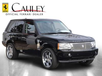Used 2007 Land Rover Range Rover Supercharged Used 2007 Land Rover Range Rover Supercharged for sale Sold at Cauley Ferrari in West Bloomfield MI 4