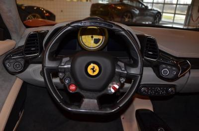 Used 2013 Ferrari 458 Spider Used 2013 Ferrari 458 Spider for sale Sold at Cauley Ferrari in West Bloomfield MI 27