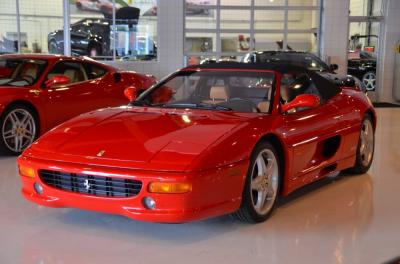 Used 1997 Ferrari F355 Spider Used 1997 Ferrari F355 Spider for sale Sold at Cauley Ferrari in West Bloomfield MI 11
