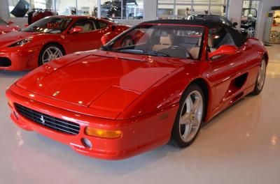 Used 1997 Ferrari F355 Spider Used 1997 Ferrari F355 Spider for sale Sold at Cauley Ferrari in West Bloomfield MI 12