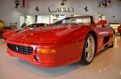 Used 1997 Ferrari F355 Spider Used 1997 Ferrari F355 Spider for sale Sold at Cauley Ferrari in West Bloomfield MI 14