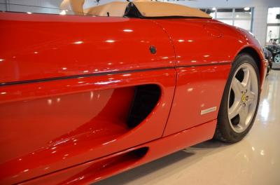 Used 1997 Ferrari F355 Spider Used 1997 Ferrari F355 Spider for sale Sold at Cauley Ferrari in West Bloomfield MI 17