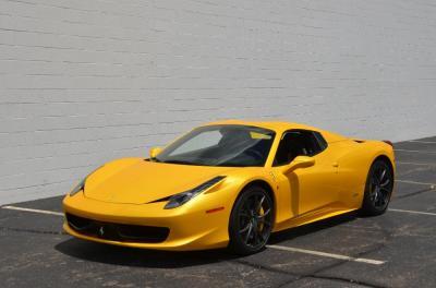 Used 2013 Ferrari 458 Spider Used 2013 Ferrari 458 Spider for sale Sold at Cauley Ferrari in West Bloomfield MI 18