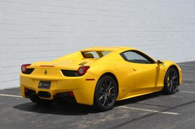 Used 2013 Ferrari 458 Spider Used 2013 Ferrari 458 Spider for sale Sold at Cauley Ferrari in West Bloomfield MI 69