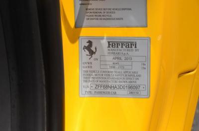 Used 2013 Ferrari 458 Spider Used 2013 Ferrari 458 Spider for sale Sold at Cauley Ferrari in West Bloomfield MI 77