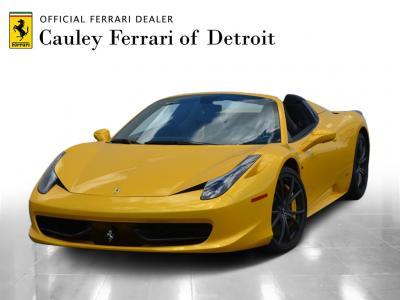 Used 2013 Ferrari 458 Spider Used 2013 Ferrari 458 Spider for sale Sold at Cauley Ferrari in West Bloomfield MI 1