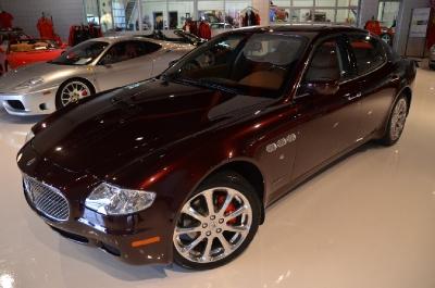 Used 2008 Maserati Quattroporte Executive GT Automatic Used 2008 Maserati Quattroporte Executive GT Automatic for sale Sold at Cauley Ferrari in West Bloomfield MI 3