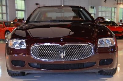 Used 2008 Maserati Quattroporte Executive GT Automatic Used 2008 Maserati Quattroporte Executive GT Automatic for sale Sold at Cauley Ferrari in West Bloomfield MI 4