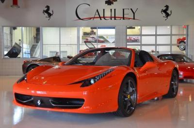 Used 2013 Ferrari 458 Spider Used 2013 Ferrari 458 Spider for sale Sold at Cauley Ferrari in West Bloomfield MI 12