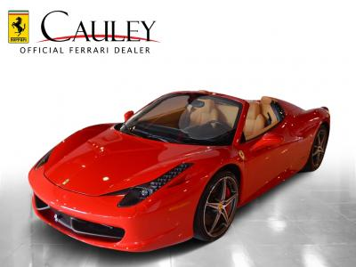 Used 2013 Ferrari 458 Spider Used 2013 Ferrari 458 Spider for sale Sold at Cauley Ferrari in West Bloomfield MI 11