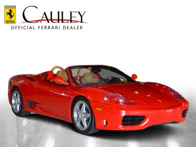 Used 2003 Ferrari 360 Spider F1 Used 2003 Ferrari 360 Spider F1 for sale Sold at Cauley Ferrari in West Bloomfield MI 4