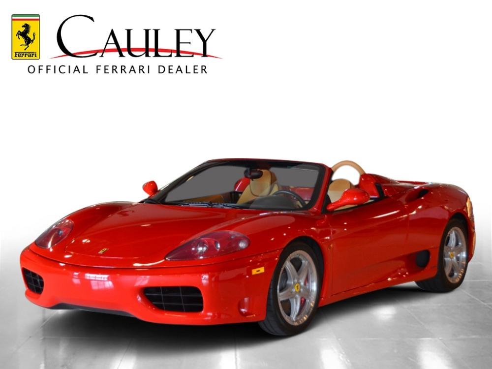 Used 2003 Ferrari 360 Spider F1