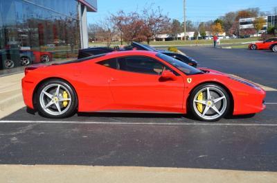 Used 2011 Ferrari 458 Italia Used 2011 Ferrari 458 Italia for sale Sold at Cauley Ferrari in West Bloomfield MI 13