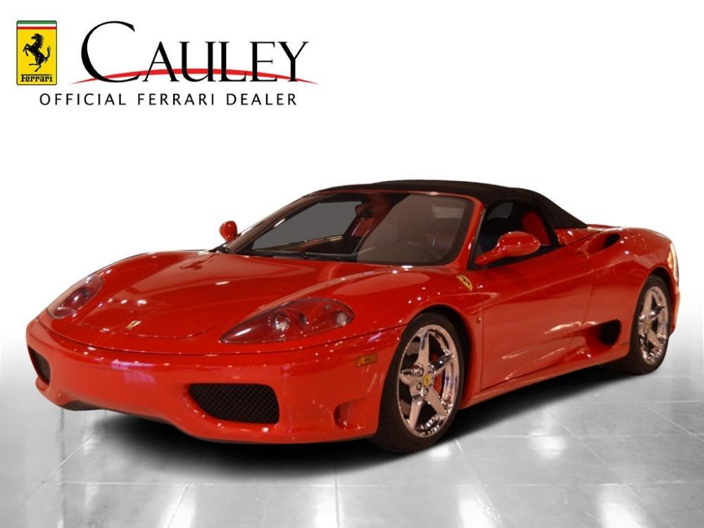 Used 2005 Ferrari 360 Spider F1