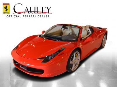 Used 2012 Ferrari 458 Spider Used 2012 Ferrari 458 Spider for sale Sold at Cauley Ferrari in West Bloomfield MI 10