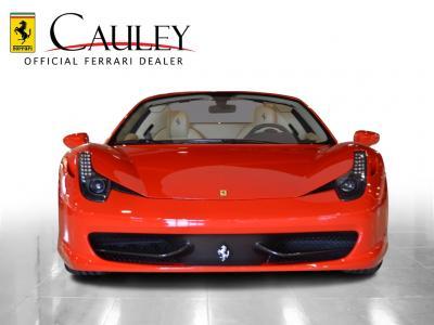 Used 2012 Ferrari 458 Spider Used 2012 Ferrari 458 Spider for sale Sold at Cauley Ferrari in West Bloomfield MI 3