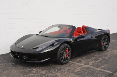 Used 2013 Ferrari 458 Spider Used 2013 Ferrari 458 Spider for sale Sold at Cauley Ferrari in West Bloomfield MI 12