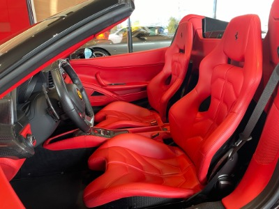 Used 2013 Ferrari 458 Spider Used 2013 Ferrari 458 Spider for sale Sold at Cauley Ferrari in West Bloomfield MI 4
