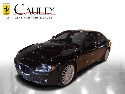 Used 2011 Maserati Quattroporte S Used 2011 Maserati Quattroporte S for sale Sold at Cauley Ferrari in West Bloomfield MI 11