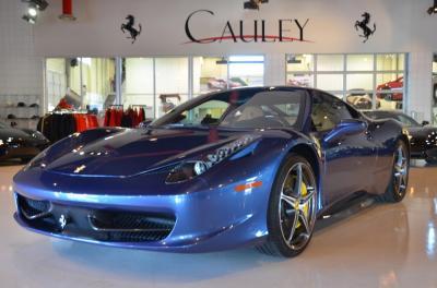 Used 2012 Ferrari 458 Italia Used 2012 Ferrari 458 Italia for sale Sold at Cauley Ferrari in West Bloomfield MI 11