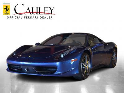 Used 2012 Ferrari 458 Italia Used 2012 Ferrari 458 Italia for sale Sold at Cauley Ferrari in West Bloomfield MI 1