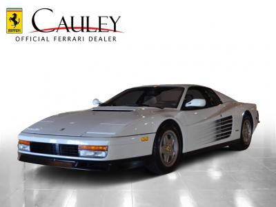 Used 1988 Ferrari Testarossa Used 1988 Ferrari Testarossa for sale Sold at Cauley Ferrari in West Bloomfield MI 10
