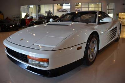 Used 1988 Ferrari Testarossa Used 1988 Ferrari Testarossa for sale Sold at Cauley Ferrari in West Bloomfield MI 13