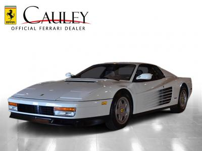 Used 1988 Ferrari Testarossa Used 1988 Ferrari Testarossa for sale Sold at Cauley Ferrari in West Bloomfield MI 1