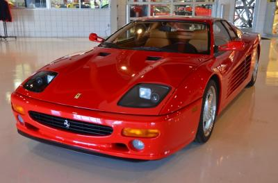 Used 1995 Ferrari F512 M Used 1995 Ferrari F512 M for sale Sold at Cauley Ferrari in West Bloomfield MI 12