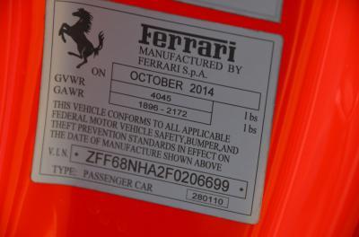 Used 2015 Ferrari 458 Spider Used 2015 Ferrari 458 Spider for sale Sold at Cauley Ferrari in West Bloomfield MI 78