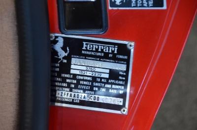 Used 1982 Ferrari 308 GTSi Used 1982 Ferrari 308 GTSi for sale Sold at Cauley Ferrari in West Bloomfield MI 30