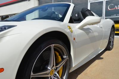 Used 2012 Ferrari 458 Spider Used 2012 Ferrari 458 Spider for sale Sold at Cauley Ferrari in West Bloomfield MI 12