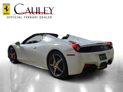 Used 2012 Ferrari 458 Spider Used 2012 Ferrari 458 Spider for sale Sold at Cauley Ferrari in West Bloomfield MI 8