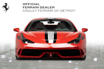 Used 2015 Ferrari 458 Speciale Used 2015 Ferrari 458 Speciale for sale Sold at Cauley Ferrari in West Bloomfield MI 3