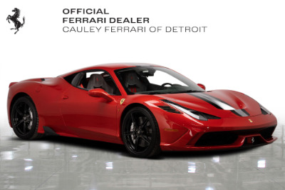 Used 2015 Ferrari 458 Speciale Used 2015 Ferrari 458 Speciale for sale Sold at Cauley Ferrari in West Bloomfield MI 4