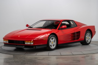 Used 1989 Ferrari Testarossa Used 1989 Ferrari Testarossa for sale Sold at Cauley Ferrari in West Bloomfield MI 3