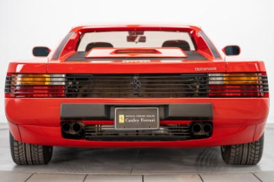 Used 1989 Ferrari Testarossa Used 1989 Ferrari Testarossa for sale Sold at Cauley Ferrari in West Bloomfield MI 6