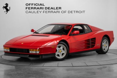 Used 1989 Ferrari Testarossa Used 1989 Ferrari Testarossa for sale Sold at Cauley Ferrari in West Bloomfield MI 1
