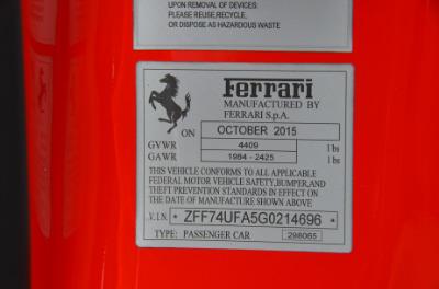 Used 2016 Ferrari F12berlinetta Used 2016 Ferrari F12berlinetta for sale $249,900 at Cauley Ferrari in West Bloomfield MI 83