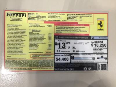 Used 2016 Ferrari F12berlinetta Used 2016 Ferrari F12berlinetta for sale $249,900 at Cauley Ferrari in West Bloomfield MI 85