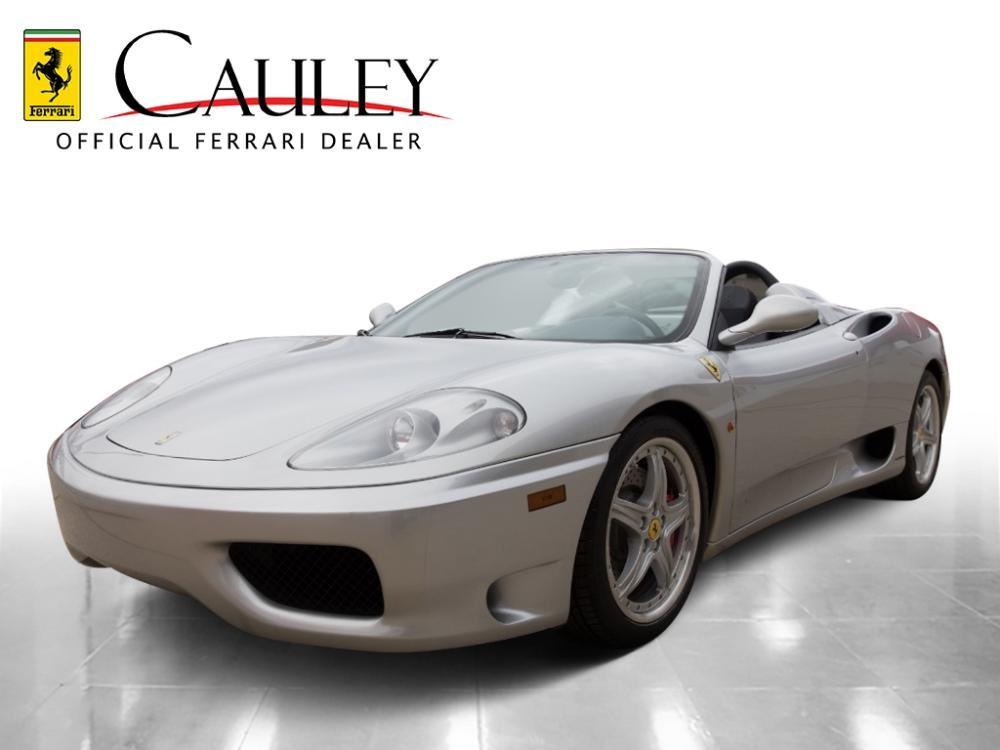 Used 2002 Ferrari 360 Spider F1