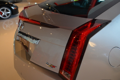 Used 2011 Cadillac CTS-V Coupe Used 2011 Cadillac CTS-V Coupe for sale Sold at Cauley Ferrari in West Bloomfield MI 14